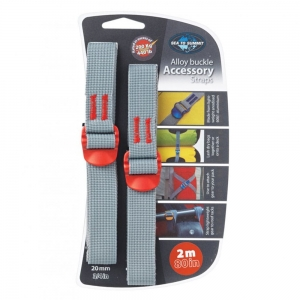 Pasy Sea To Summit Accessory Strap 20mm Webbing 2m Red