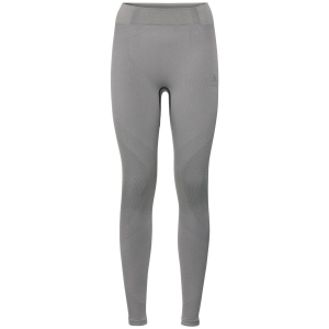 Damskie getry Odlo SUW Bottom Pant PERFORMANCE Warm-Grey Melange-Black