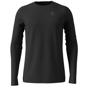 Męska koszulka Odlo SUW Top Crew neck L/S Natural 100% MERINO Warm-Black