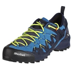 Męskie buty Salewa MS Wildfire Edge-Premium Navy/Fluo Yellow