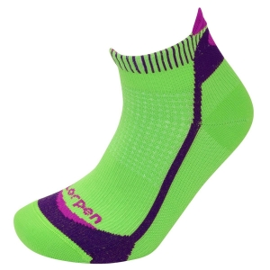 Skarpety Lorpen T3 Women's Running Mini X3IW-Green/Plum-M