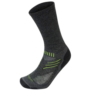 Skarpety outdoorowe Lorpen T2 Merino Light Hiker T2LCM-Charcoal/Green