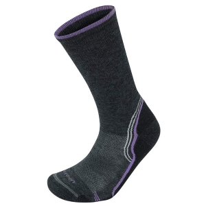 Damskie skarpety Lorpen T2 Women's Merino Light Hiker T2LCW-Charcoal/Mauve