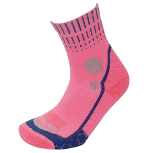 Skarpety Lorpen T3 Women's Running Mid Crew X3OSW-Coral/Blue-M