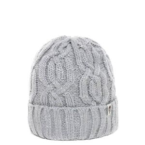 Ciepła czapka The North Face CABLE MINNA BEANIE-TNF Light Grey Heather