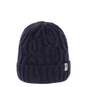 Ciepła czapka The North Face CABLE MINNA BEANIE-Montague Blue