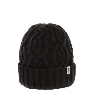 Ciepła czapka The North Face CABLE MINNA BEANIE-TNF Black