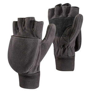Wszechstronne rękawice Black Diamond WindWeight Fleece Mitts-Black