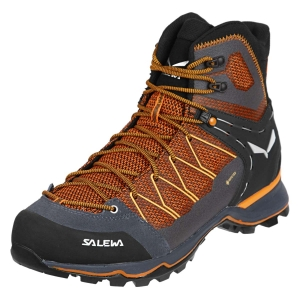 Trekkingowe buty męskie Salewa MS MTN Trainer Lite Mid GTX-Black Out/Carrot