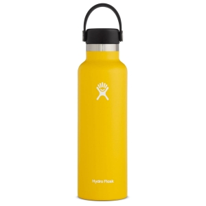 Butelka izolowana 621ml Hydro Flask Standard Mouth Flex Cap 21oz - Sunflower