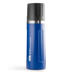 Termos turystyczny GSI Glacier Stainless Vacuum Bottle 1 L-Blue
