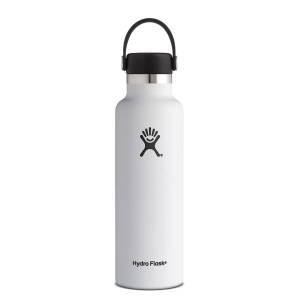 Butelka izolowana 621ml Hydro Flask Standard Mouth Flex Cap 21oz - White