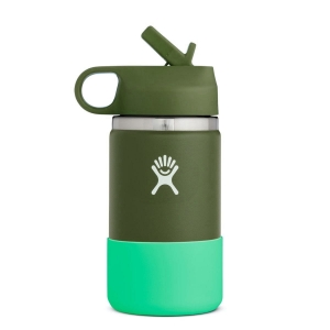 Kubek dla dzieci Hydro Flask 354 ml Wide Mouth Straw Lid - Olive
