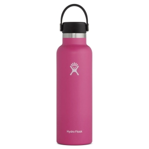 Butelka izolowana 621ml Hydro Flask Standard Mouth Flex Cap 21oz - Carnation