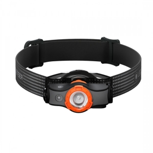 Latarka czołowa Ledlenser MH5 (400 lm) - Black/Orange WindowBox