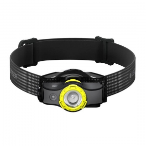 Latarka czołowa Ledlenser MH5 (400 LM) - Black/Yellow WindowBox