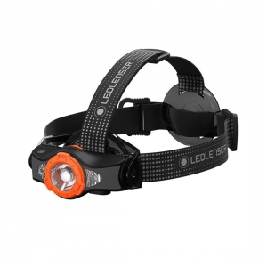 Latarka czołowa Ledlenser MH11 - Black/Orange