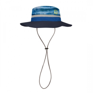 Kapelusz Buff Booney Hat - Zankor Blue National Geographic - S/M