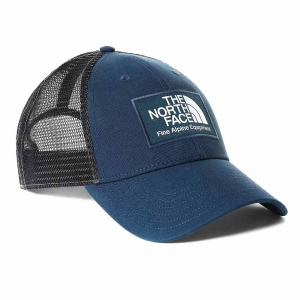 Czapka z daszkiem The North Face Mudder Trucker-Monterey Blue