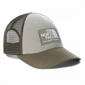 Czapka z daszkiem The North Face Mudder Trucker-Agave Green-New Taupe Green