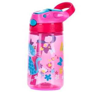 Butelka Contigo Gizmo Flip 420ml-Cherry Cat
