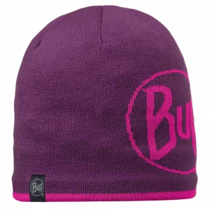 Czapka Buff Knitted & Polar Logo-Plum