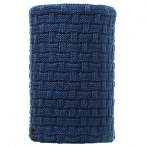 BUFF NECKWARMER KNITTED POLAR AIRON BLUE