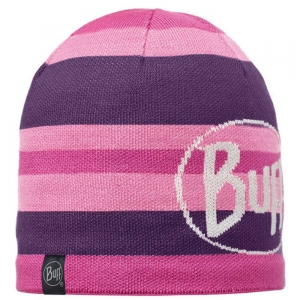 Czapka Buff Knitted & Polar Ovel-Plum