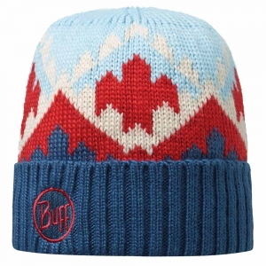 Czapka Buff Knitted Gybol-Blue