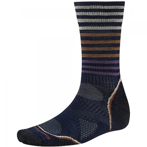 Skarpety Smartwool PhD Outdoor Light Pattern Crew-Navy-L