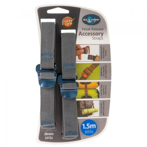 Pasy Sea To Summit Accessory Strap with Hook Buckle 20mm Webbing 1.5m Blue