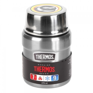 Termos na jedzenie THERMOS King Food Jar 470ml Steel