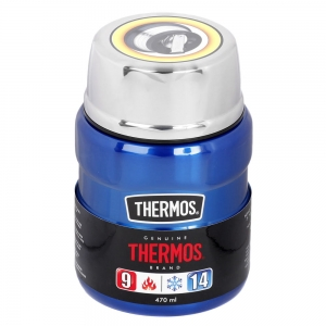 Termos na jedzenie THERMOS King Food Jar 470ml Blue