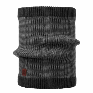Komin Buff Knitted Neckwarmer Dee-Black