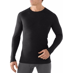Bluzka Smartwool Men's Merino 250 Baselayer Crew-Black-XL