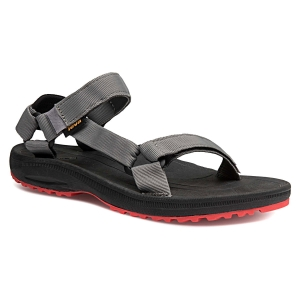 Sandały TEVA MEN'S Winsted Solid-Black/Red